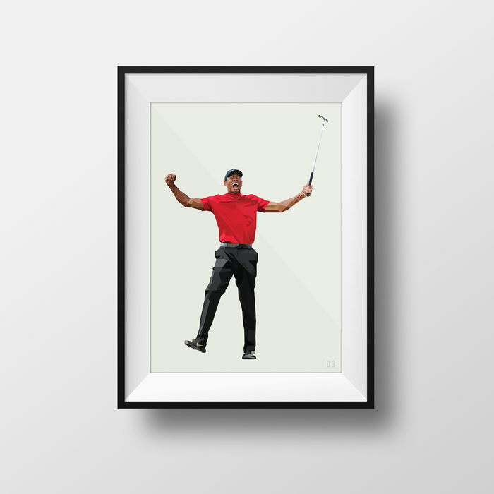 Tiger Woods - Limited Edition - DG Designs