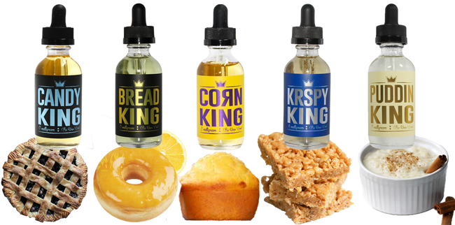New King's Crest Bundle Deal (300ML) - Q8Vapor