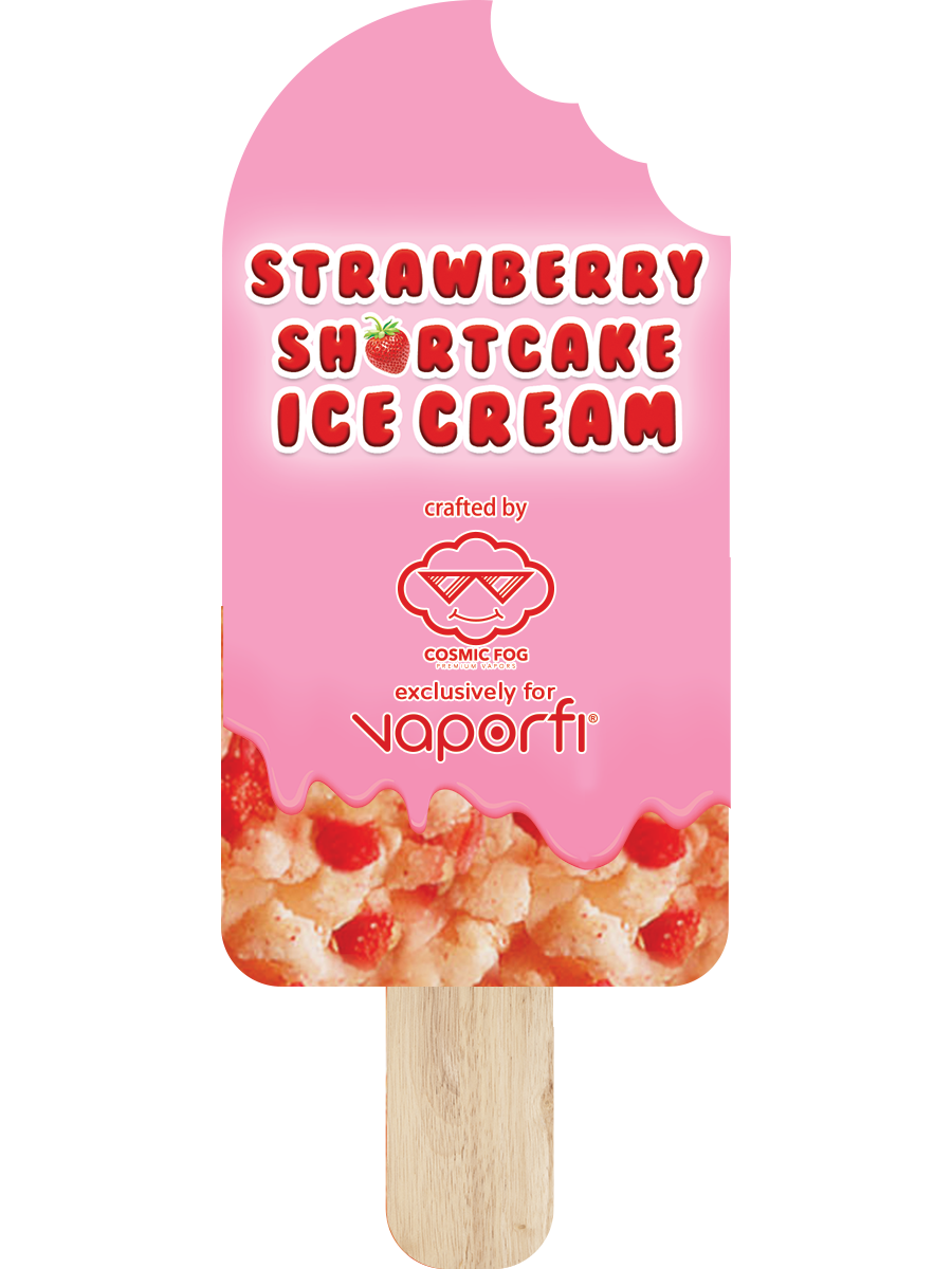 Strawberry Shortcake Ice Cream Crafted by Cosmic Fog (30ML) - Q8Vapor