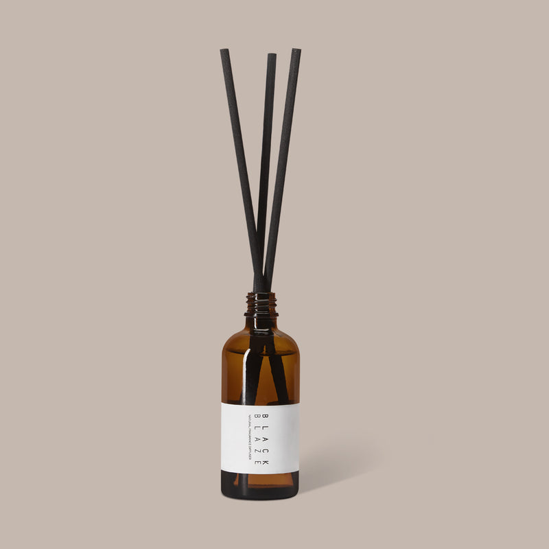 SAUDADE DIFFUSER 100ml, DIFFUSER, BLACK BLAZE, BLACK BLAZE - BLACK BLAZE | Scents of Australia | Natural Home Fragrance Label  | Australia's 1St Wooden Wick Candle