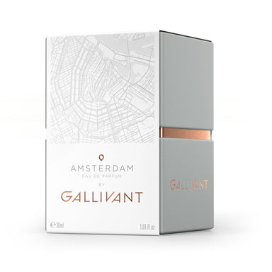 Gallivant Eau De Parfum – Amsterdam, PERFUME, Gallivant, BLACK BLAZE - BLACK BLAZE | Scents of Australia | Natural Home Fragrance Label  | Australia's 1St Wooden Wick Candle