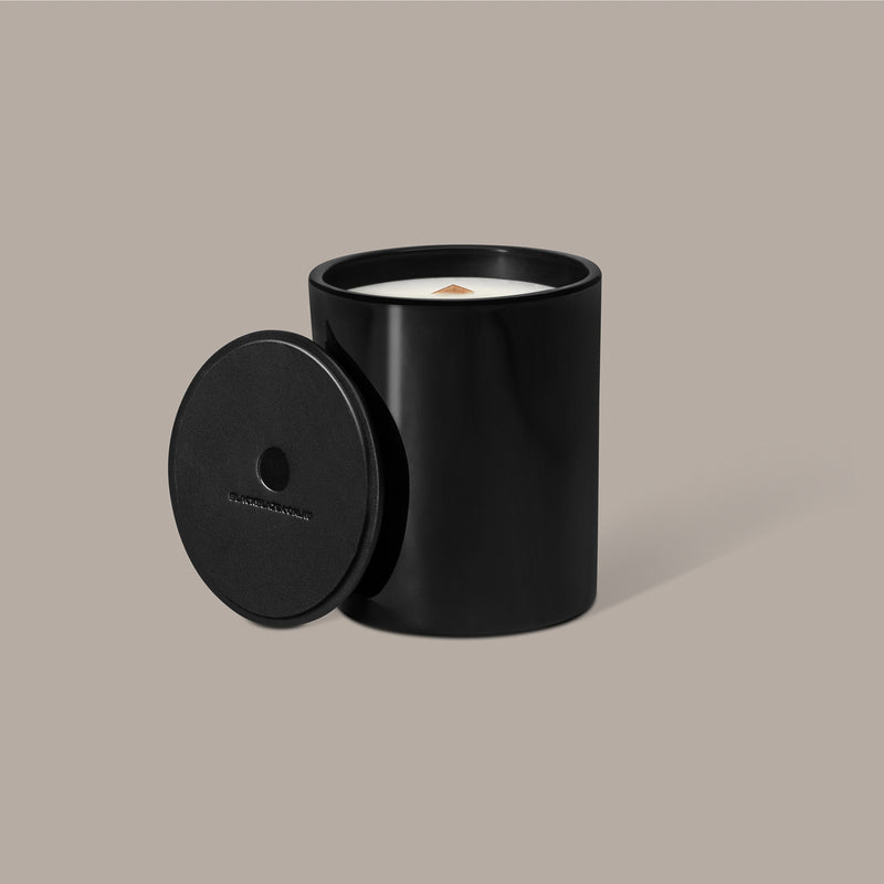DÉPAYSEMENT Scented Candle, HOME CANDLE, BLACK BLAZE, BLACK BLAZE - BLACK BLAZE | Scents of Australia | Natural Home Fragrance Label  | Australia's 1St Wooden Wick Candle