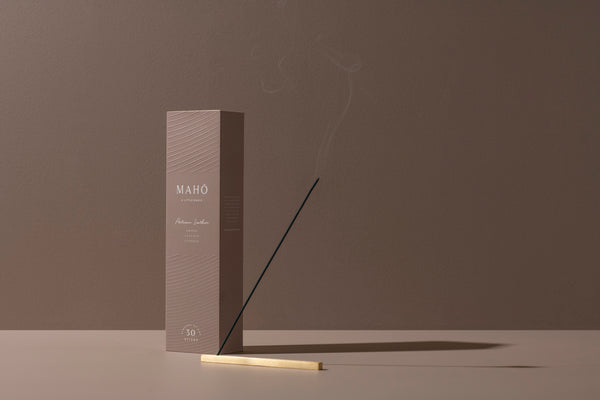 MAHŌ Sensory Sticks - Artisan Leather, Homeware, MAHŌ, BLACK BLAZE - BLACK BLAZE | Scents of Australia | Natural Home Fragrance Label  | Australia's 1St Wooden Wick Candle