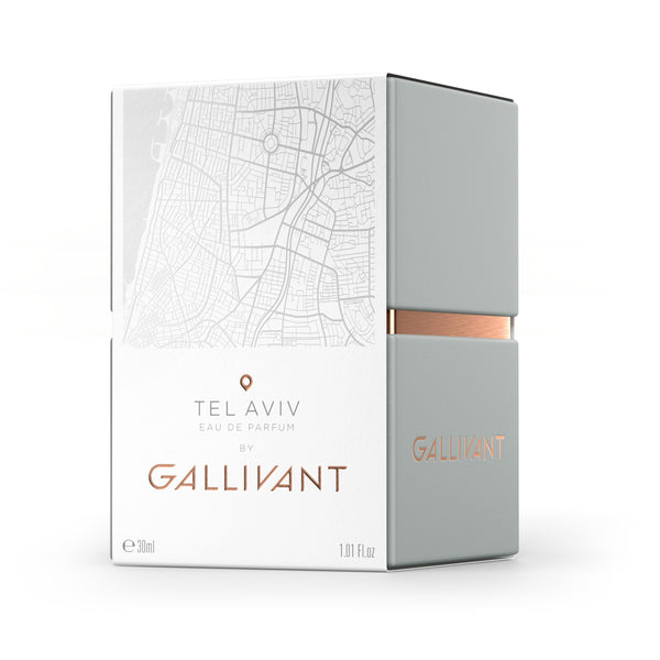 Gallivant Eau De Parfum – Tel Aviv, PERFUME, Gallivant, BLACK BLAZE - BLACK BLAZE | Scents of Australia | Natural Home Fragrance Label  | Australia's 1St Wooden Wick Candle
