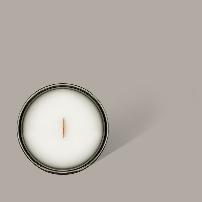 Bush Walk Scented Candle, THE GREAT OUTDOOR COLLECTION, BLACK BLAZE, BLACK BLAZE - BLACK BLAZE | Scents of Australia | Natural Home Fragrance Label  | Australia's 1St Wooden Wick Candle