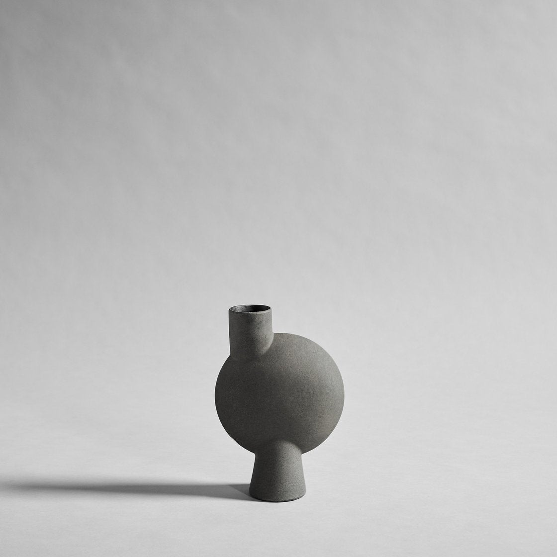 Sphere Vase Bubl, Medio - Dark Grey
