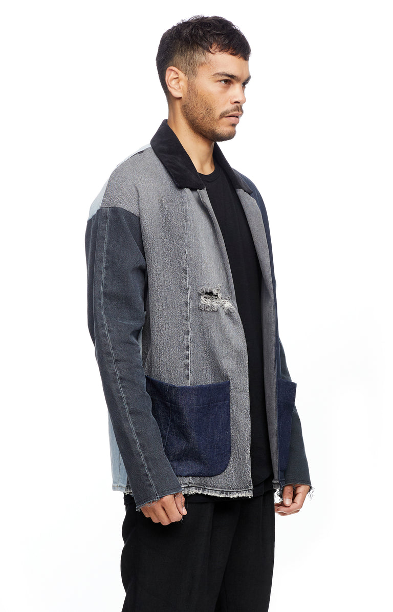 Reworked Denim Blazer