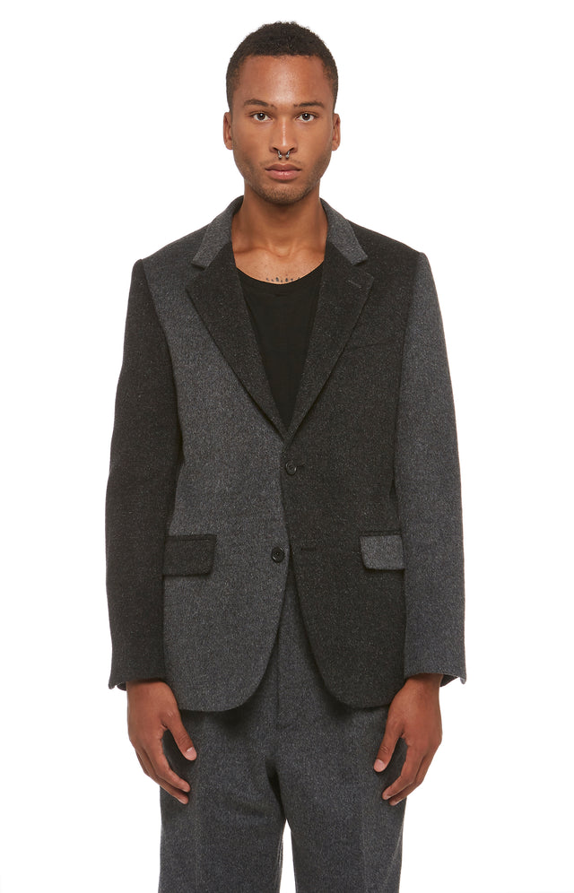 Analogue Wool Blazer