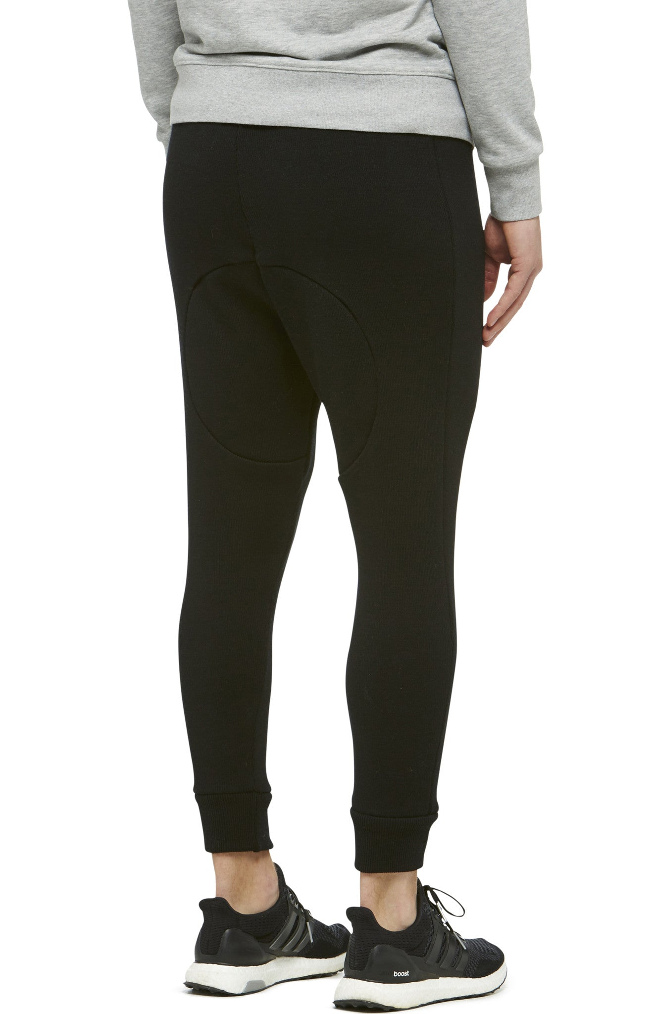 Black Merino Knit Long Johns