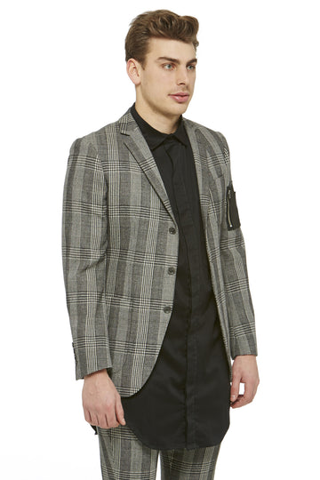 Grey Prince of Wales Blazer