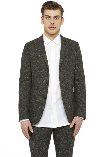 Charcoal Tweed Blazer