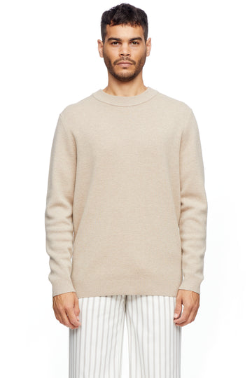 Oatmeal Crewneck Knit