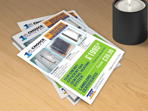 Copy of A3 Gloss Laminated Flyers (320gsm board)