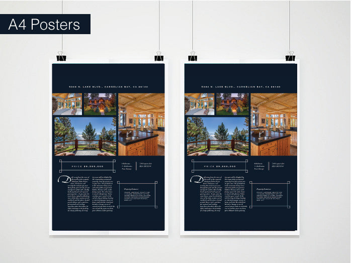 A4 Posters (297mm x 210mm)