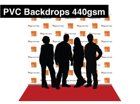 PVC Backdrop Banner - 440gsm