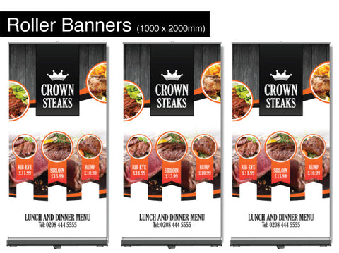Roller Banners 1000mm x 2000mm