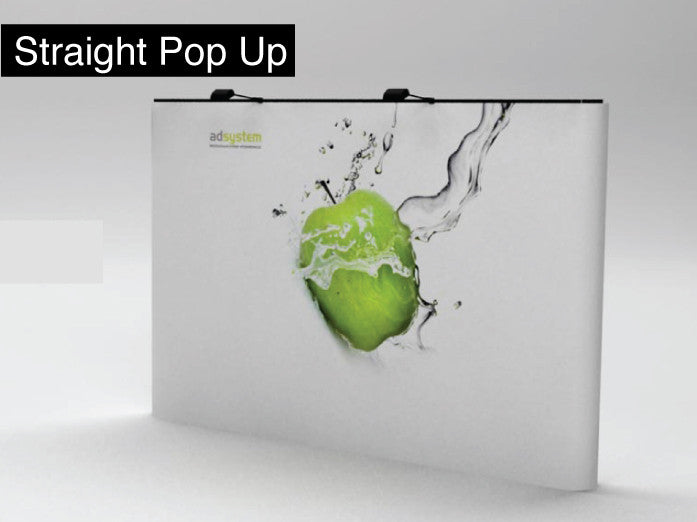 Straight Up Display (single sided)