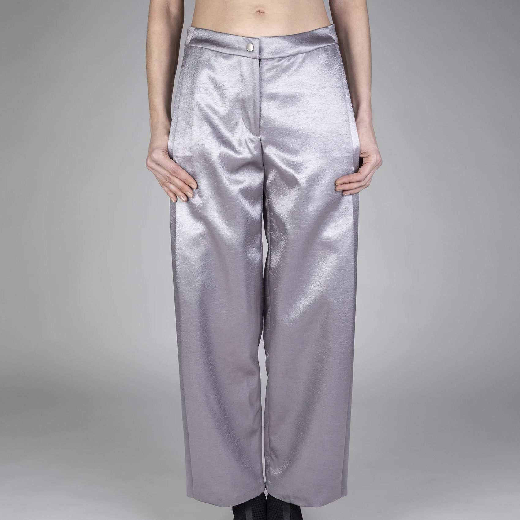 PLEAT FLY TROUSERS