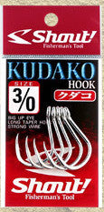 Shout Kudako Jigging Hook Black