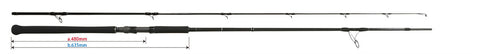 Daiwa Landing Net Pole II - 40 (58.5cm folded length)