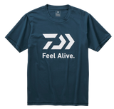 (PRE-ORDER) DAIWA FEEL ALIVE S/S T SHIRT- RIVER BLUE