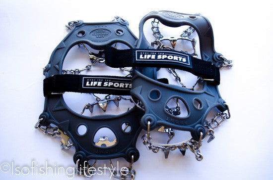 Eisen Pro Stainless Steel Rock Fishing Cleats/Spikes