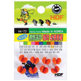 HDF Rubber Coated Splitshots HA-721