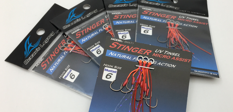 BKK FANGS Super Slide 1x treble hooks BT621-SS