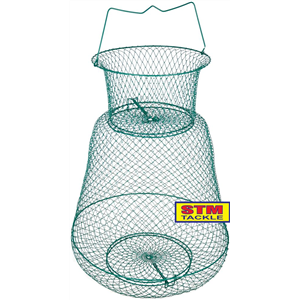 STM Tackle Wire Keeper Net With Floating Lid