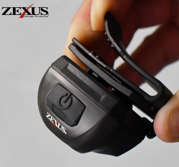 Zexus ZX-R10 Clip On Rechargeable LED Headtorch