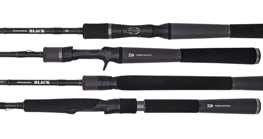 2020 TEAM DAIWA TD BLACK SPIN ROD V2 (3PC)