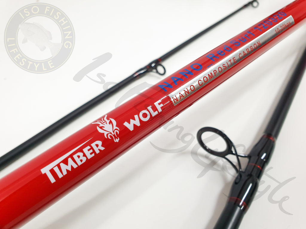 Timber Wolf Nano Carbon Surf Fishing Rod