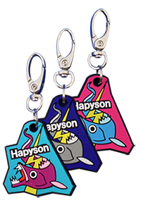 Hapyson Fish Measure Key Holder YQ-830-R