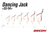 Decoy Light Game Dancing Jack Twin Assist Hooks DJ-54 - SS