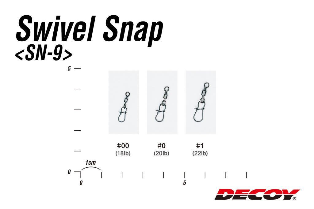 Decoy Swivel Snap SN-9