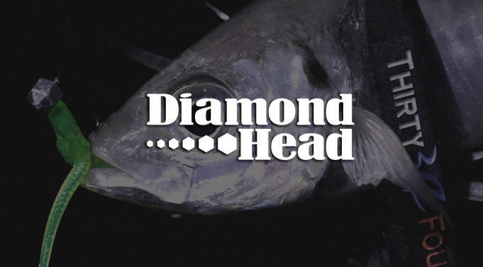 "Thirty34Four ""Diamond Head"" Jighead"