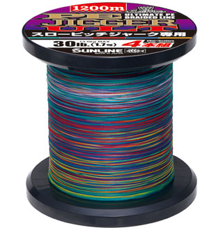 Sunline PE Jigger ULT4 PE Braid Line (Slow Pitch Special) 1200m