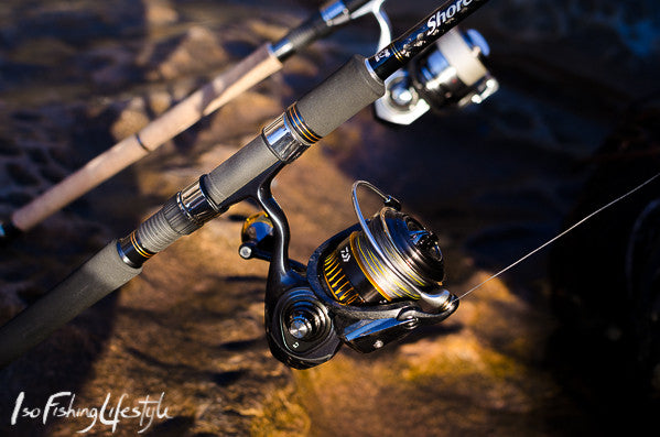 Palms Shore Gun Evolv Shore jigging