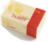 ENGLISH BUTTER UNSALTED 40 x 250gm