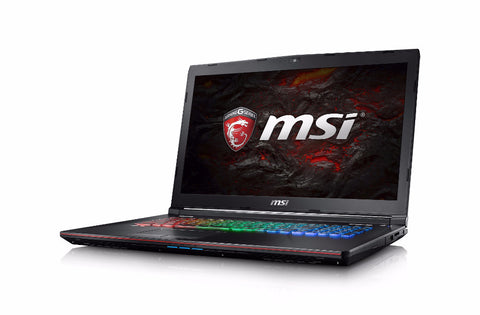 MSI GE72 7RE Apache Pro Intel Core i7-7700HQ, GeForce GTX 1050 Ti