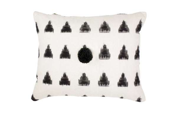 Celia Triangle Cushion - Ondine Ash