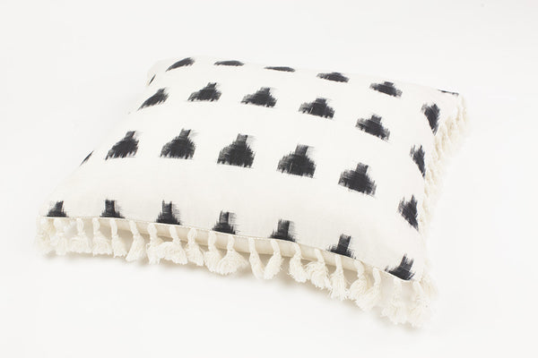 Ava Triangle Cushion - Ondine Ash