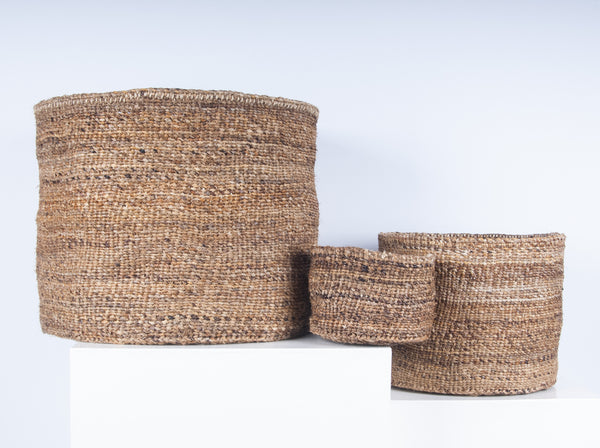 Natural Banana Weave Basket