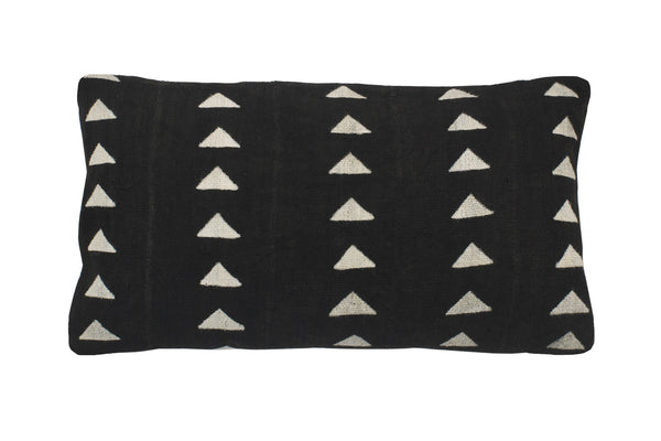 Mud Cloth Triangle Bolster Cushion