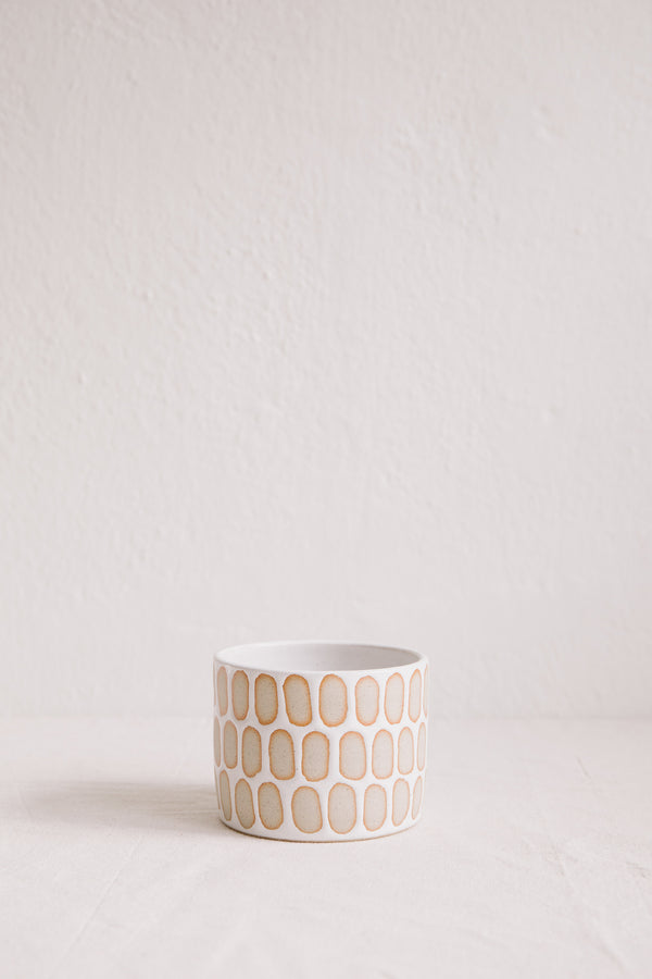 Hannah Bould Plant Pot (Linear Dot)