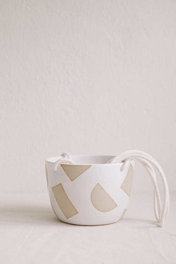 Hannah Bould Hanging Plant Pot (Shapes)