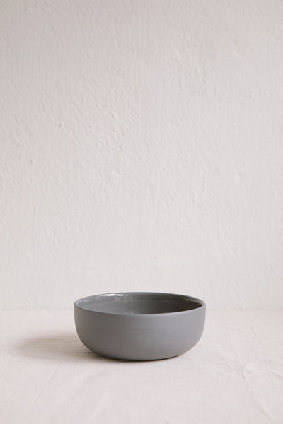 Mr & Mrs Cereal Bowl (Charcoal)