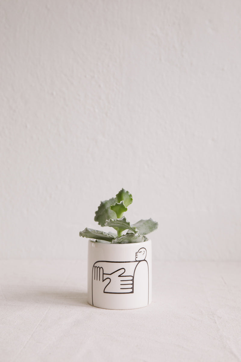'Square' Mini Pot