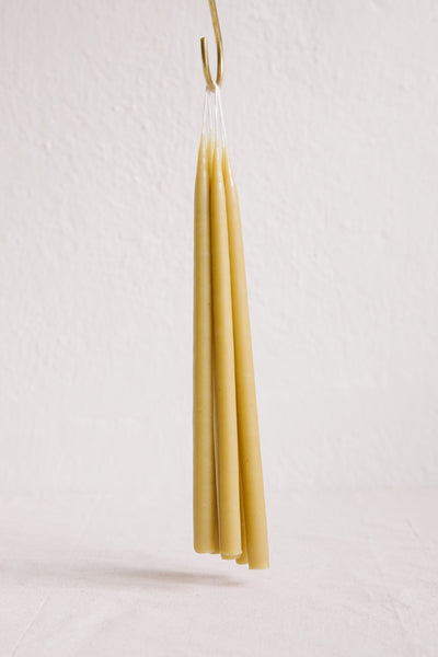 Tapered Candles - Natural