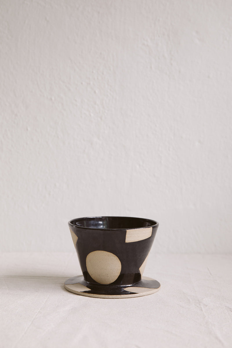 Hannah Bould Coffee Dripper Black